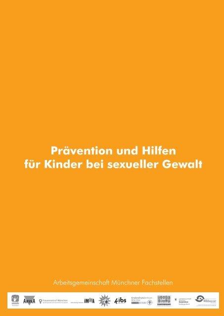 Prävention und Hilfen für Kinder bei sexueller Gewalt - Wildwasser ...
