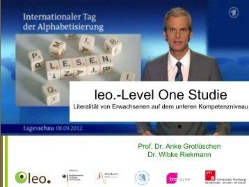 die leo. - Arbeit und Leben NRW