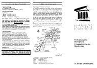 Föderalismus in Deutschland - Akademie für Politische Bildung ...