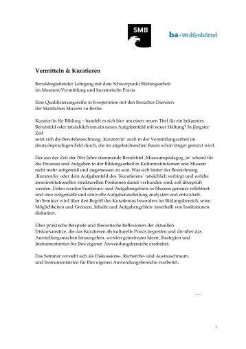 Detailinformationen - Bundesakademie für Kulturelle Bildung ...