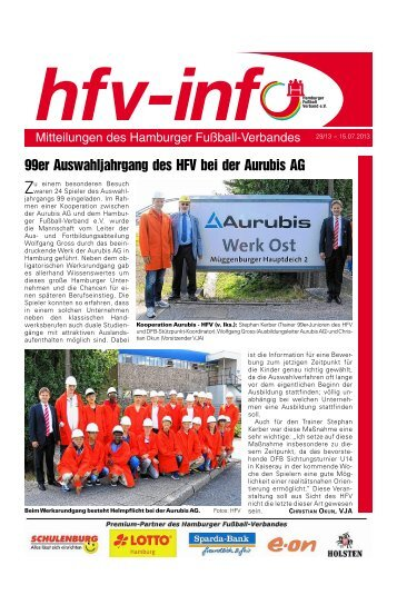 HFV-Info Nr. 29-2013 - Hamburger Fußball-Verband e.V.