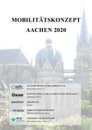 Mobilitätskonzept Aachen 2020 - VCD
