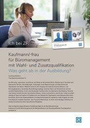 Informationen (PDF, 211 KB) - ZF Friedrichshafen AG
