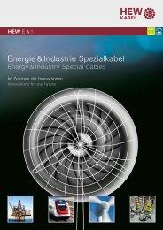 Energie & Industrie-Broschüre - HEW-KABEL GmbH