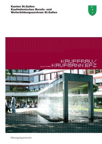 KaufFRAU/ KAufMANN EFZ - KBZSG