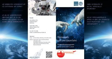Programm an der Universität zu Köln - Verwaltung