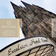 Grundrisse - Excelsior Hotel Ernst