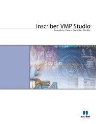 Inscriber VMP Studio - CAM Computer Aided Magic Gmbh