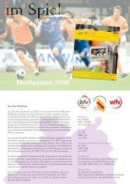 Mediadaten 2009 - im Spiel