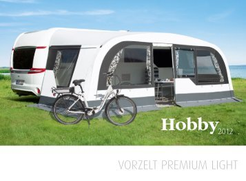 VORZELT PREMIUM LIGHT - Hobby Caravan