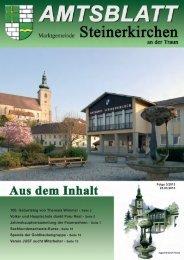 Seite 2 Volks- und Hauptschule dankt Frau Resl - Seite 5 ...
