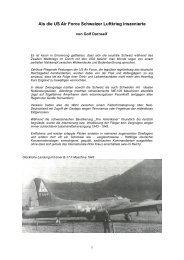 Als die US Air Force Schweizer Luftkrieg inszenierte - Golf Dornseif