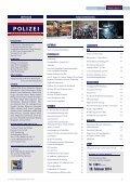 Ausgabe 4/2013 - Polizei © Polizei - Seite 2