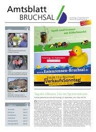 Amtsblatt KW 37_2013 - Bruchsal