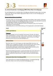 14. Unterrichtseinheit: Verteidigung MMV (Mann-Mann-Verteidigung)