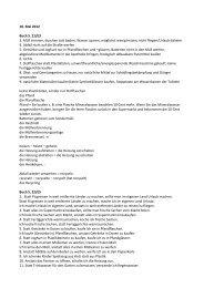 10. Mai 2012 Buch S. 21/E3 3. Müll trennen, duschen ... - Cladeutsch