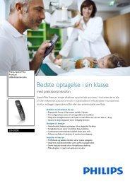 LFH3500/00 Philips USB-diktatmikrofon