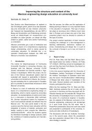Improving the structure and content of the Mexican - Institut für ...