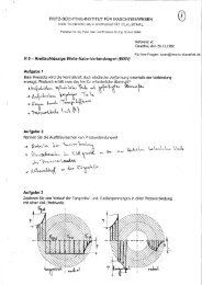 Aufgaben inkl. Lösung - TU Clausthal