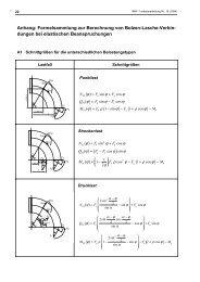 Berechnung und Optimierung von Bolzen-Lasche-Verbindungen