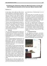 Backhaus, S.: Vorstellung der Arbeit des Instituts für ...