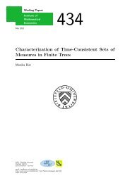 Characterization of Time-Consistent Sets of Measures in Finite Trees