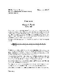 2.Termin WS 2006/2007