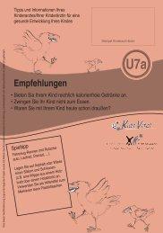 Beratungsleitfaden U7a - In Form