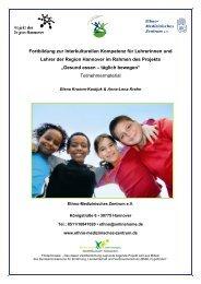 Fortbildung zur Interkulturellen Kompetenz für Lehrerinnen ... - In Form