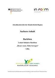 Sachsen-Anhalt Barleben - In Form