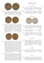 World Coins, Medals & Banknotes