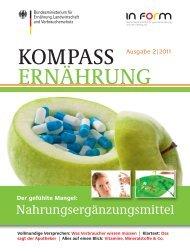 KOMPASS ERNÄHRUNG 2/2011 ... - In Form