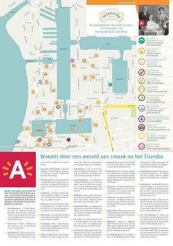 Stratenplan smaakwandeling Eilandje ( pdf ) - Stad Antwerpen