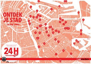 24H Oost plattegrond - I amsterdam