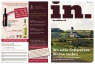 Wo edle Schweizer Weine reifen - IN-Media