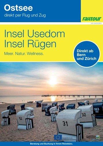 Insel Usedom Insel Rügen - BLS