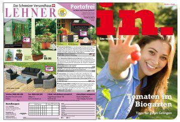 Tomaten im Biogarten - IN-Media