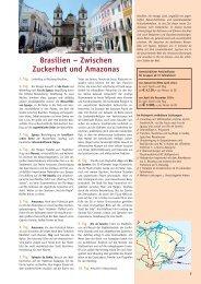 Brasilien 2014 - Biblische Reisen