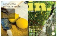 Limoncello – selbst gemacht - IN-Media