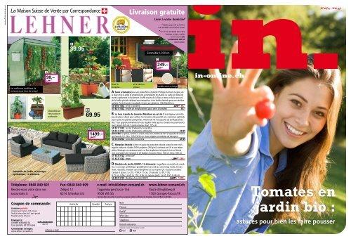 astuces pour bien les faire pousser Tomates en jardin bio - IN-Media