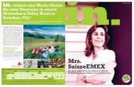 Mrs. SuisseEMEX - IN-Media