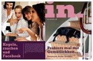 Kegeln, rauchen und Facebook Probiers mal mit ... - IN-Media