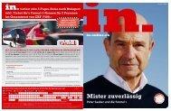Peter Sauber und die Formel 1 Mister zuverlässig - IN-Media