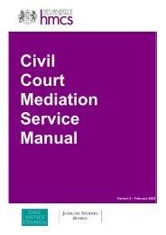 Civil Court Mediation Service Manual