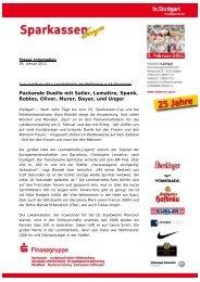 Presseinformation vom 26. Januar 2011 (PDF-Dokument) - in.Stuttgart