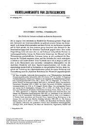 Hugenberg contra Stresemann - Institut für Zeitgeschichte