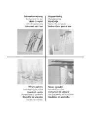 pflege und reinigung des türfilters - Schwab