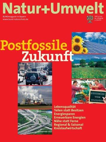 Natur Umwelt 4-2013.pdf - Bund Naturschutz in Bayern eV
