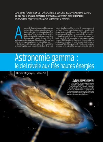 Astronomie gamma : le ciel révélé aux très hautes énergies ... - IN2P3