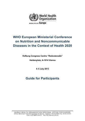English (PDF), 110.7 KB - WHO/Europe - World Health Organization